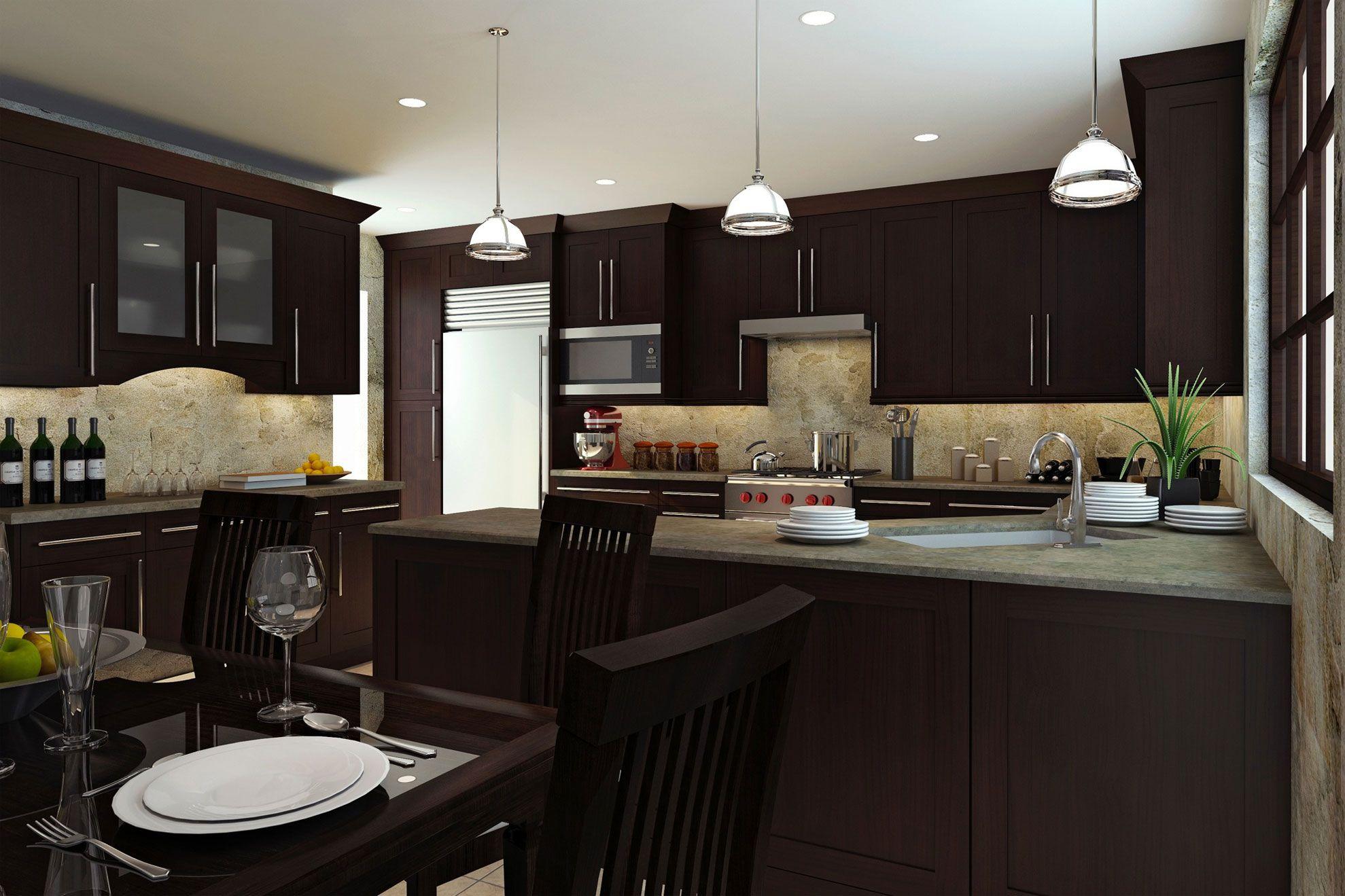 Madison RTA Kitchen Cabinets By Adornus