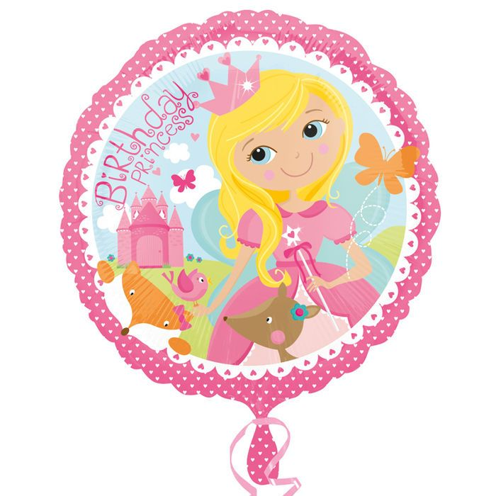 Ballon Birthday Princess Party Pink Decoration