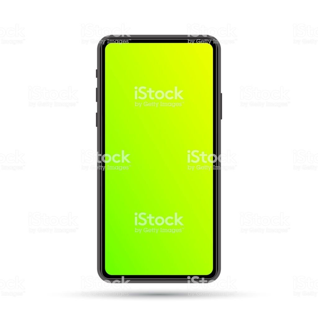 Cell Phone Template Flow Green Yellow Royalty Free Cell Phone Template Flow Green Yellow Stock Vector Art More Images Of Ab Phone Template Phone Phone Mockup
