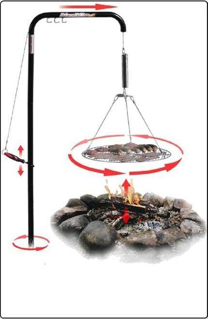 Automatic Chef Campfire Grill