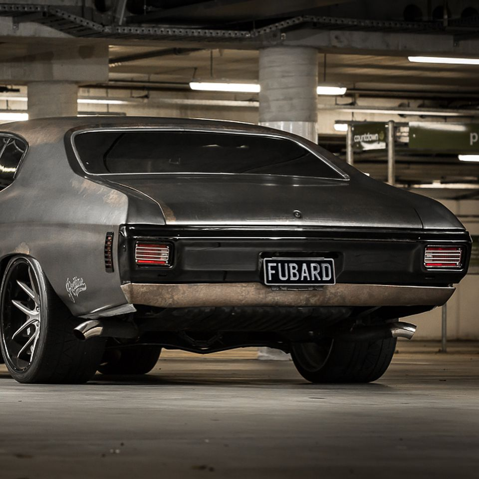 hight resolution of 70 chevelle ss in auckland for mag and turbo garage becausess niche wheels concave tucked vinyl wrap