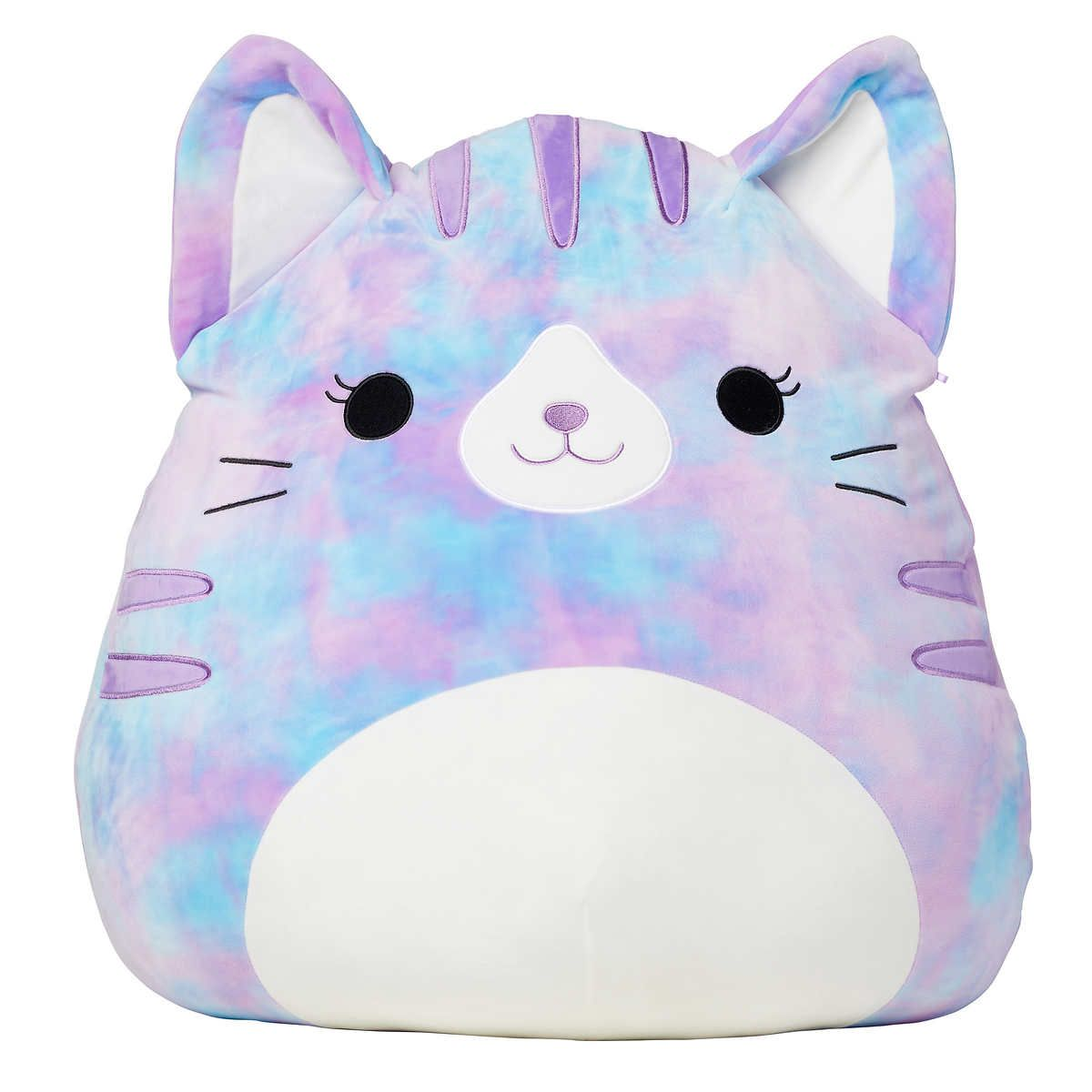 Jumbo Squishmallows 24 Plush Tabby Cat In 2021 Plush Tabby Cat Tabby Cat Plush