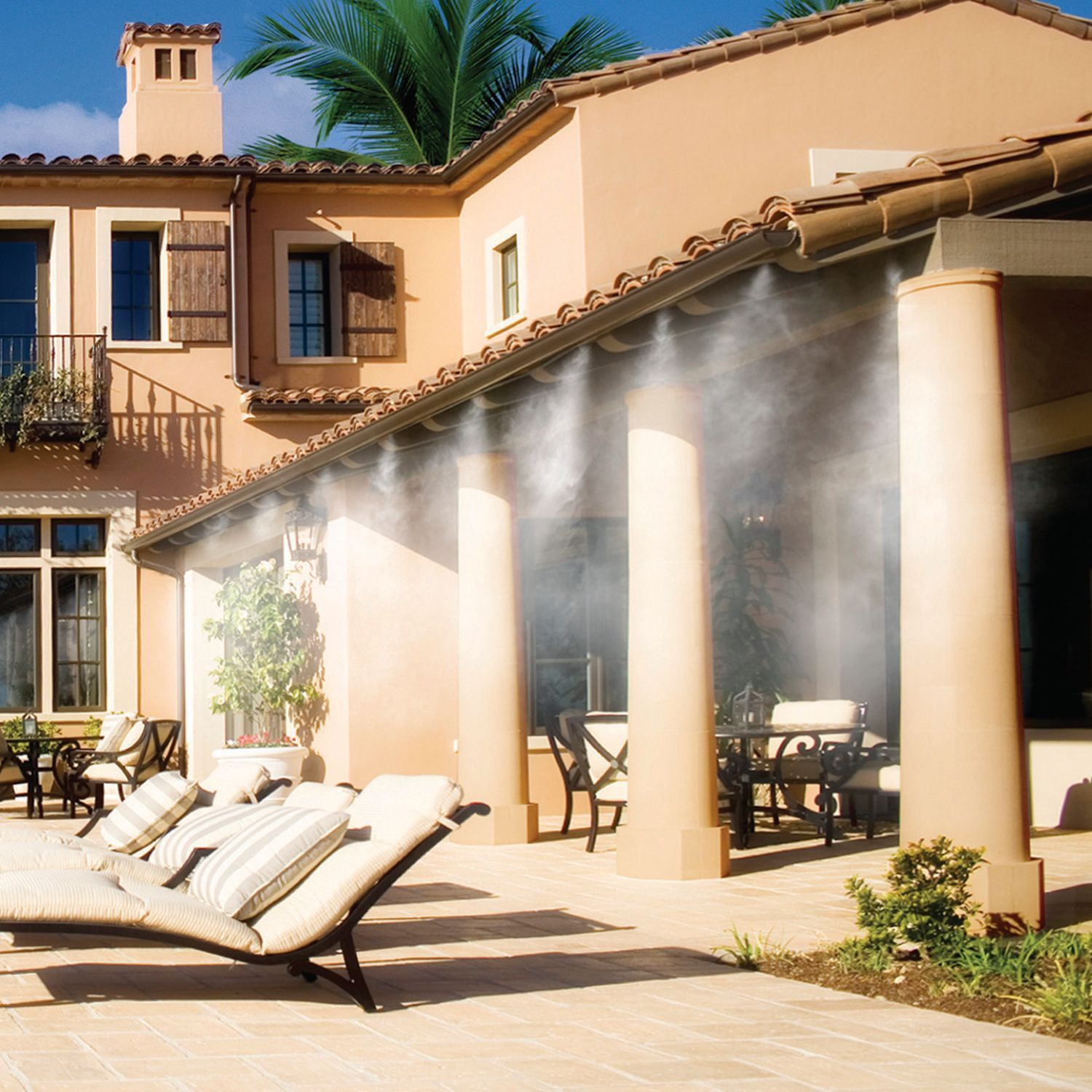 cool patio 32 combo misting system sam u0027s club patio and beaches