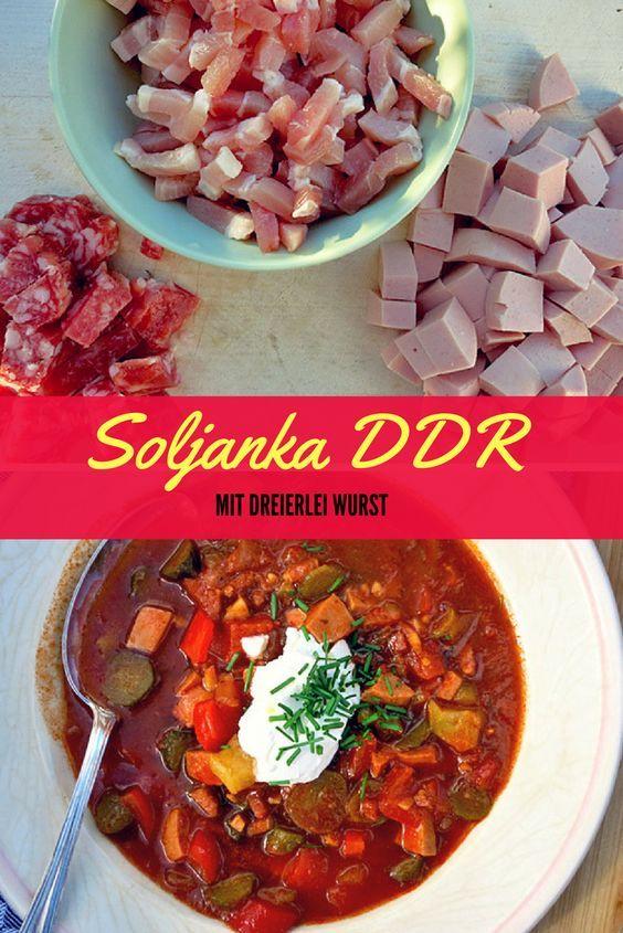 Soljanka nach DDR Art – Das Rezept mit Zeug zum Kombüsen-Klassiker