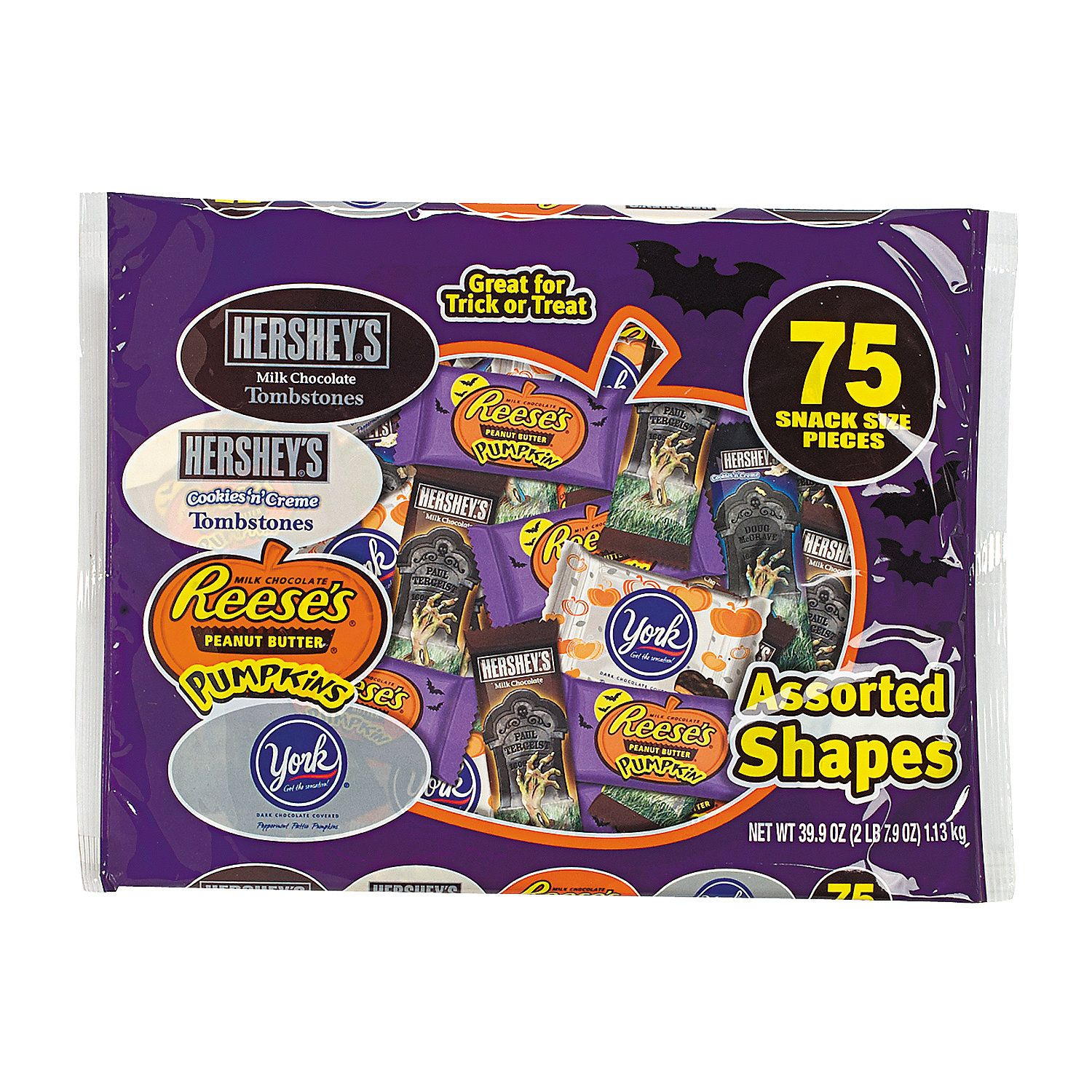 Hershey® HalloweenShaped Chocolate Candy Assortment