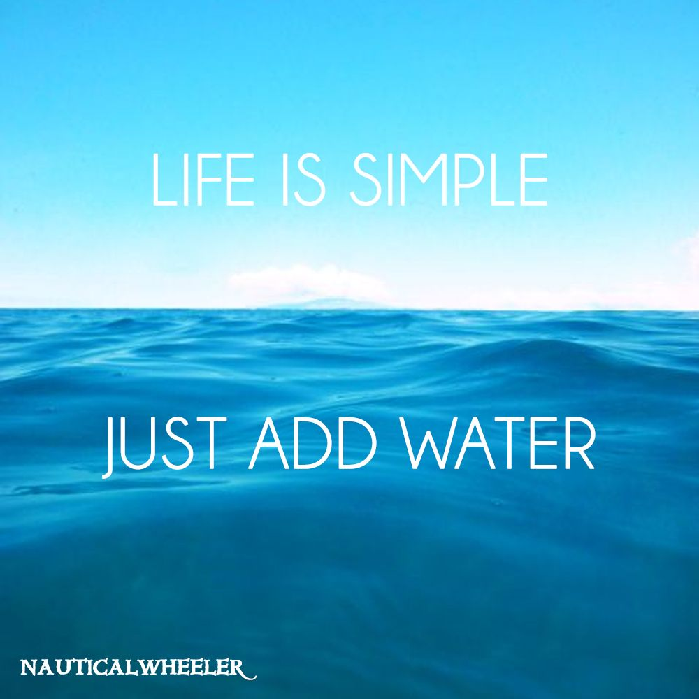 Quotes About Water Life Is Simple Quote  Water Simple Quotes And Beach Quotes
