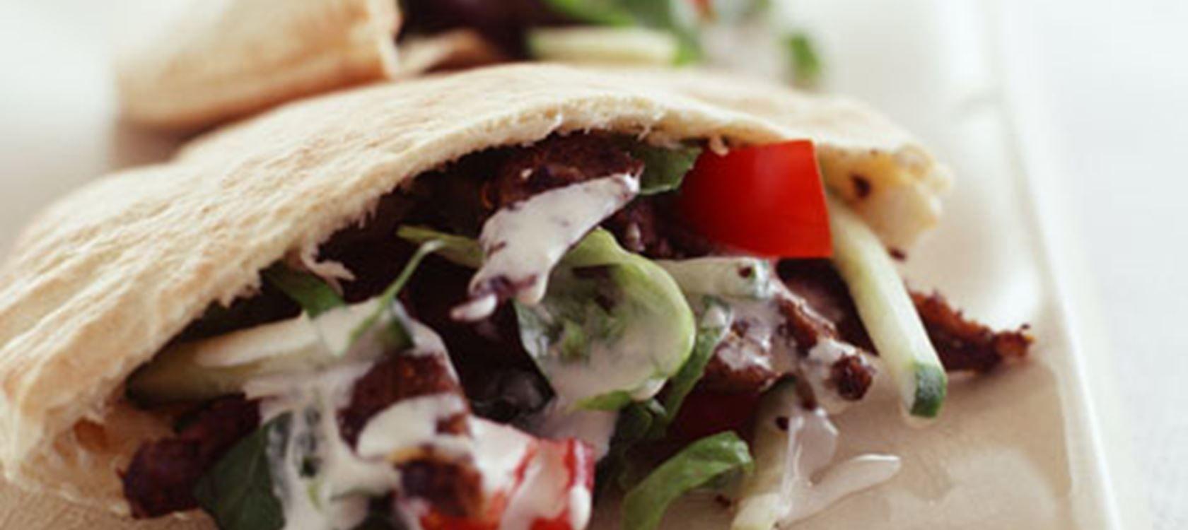 shawarma opskrift lam