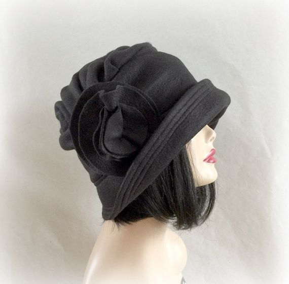 34f9db6a5c0cd Flapper Fabulous Fleece Winter Cloche