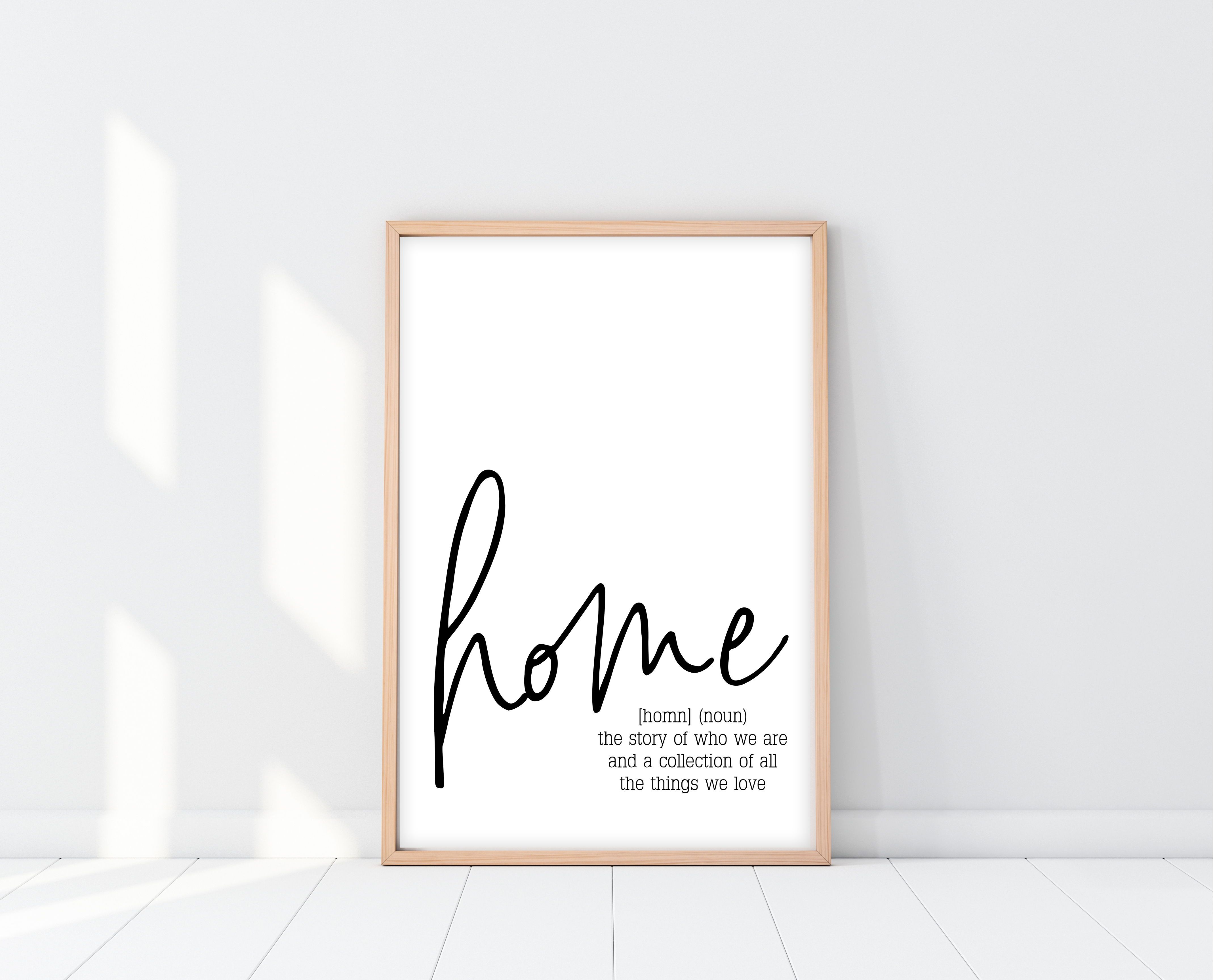Home Definition Sign Home Quotes And Sayings New Home Quotes Home Decor Signs