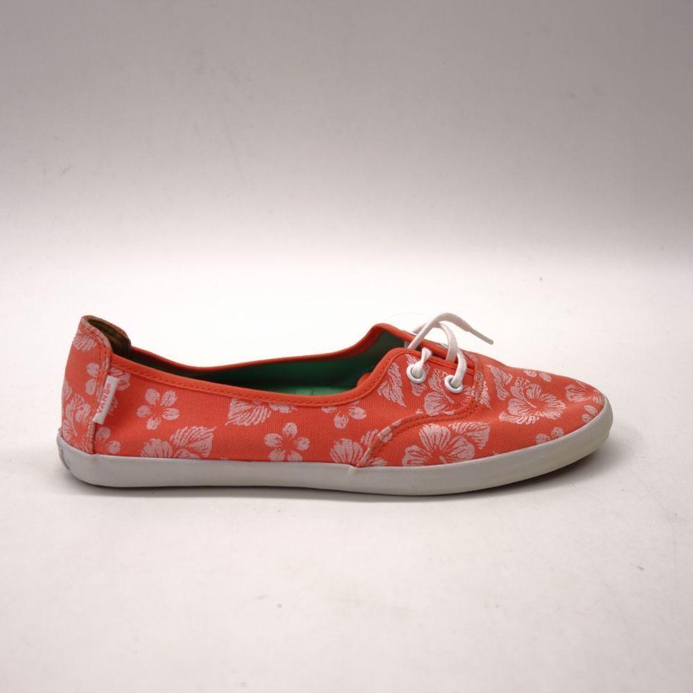 be3c2362fc94b8 New Vans Womens Off The Wall Pink Rose Surf Siders Rata Lo Hemp Shoes Flats  8.5  VANS  Comfort