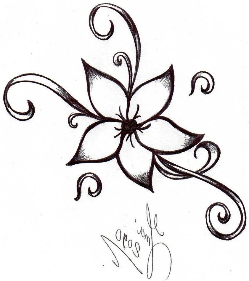 Drawing Designs Of Flowers Valoblogi Com