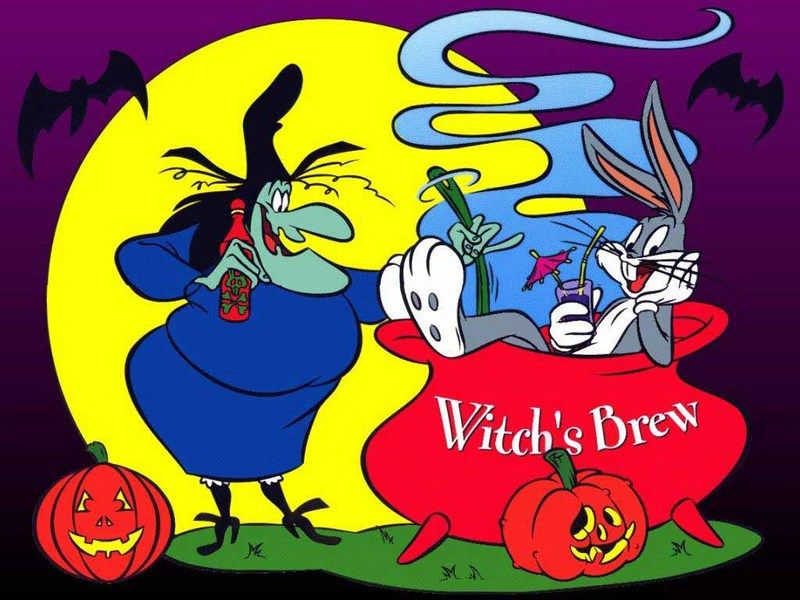 Looney tunes witchs brew Vintage Cartoons Pinterest Witches
