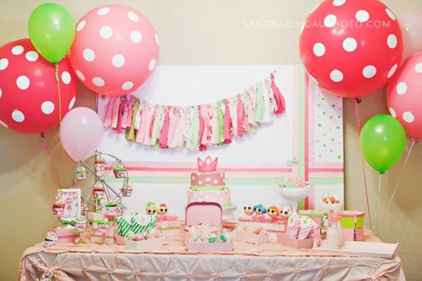 Lalaloopsy birthday party ideas!