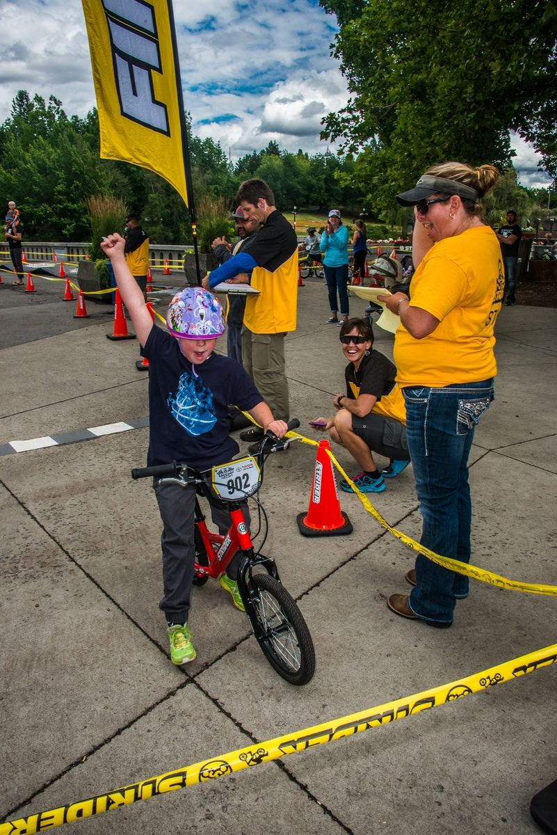 2016 Strider Cup racing in SpokaneWA, presented by Toyota