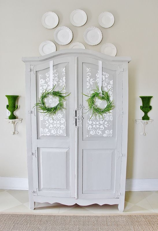 Painted-Gray-Armoire