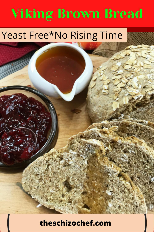Viking Brown Bread - Scandinavia's Soda Bread | Recipe in ...