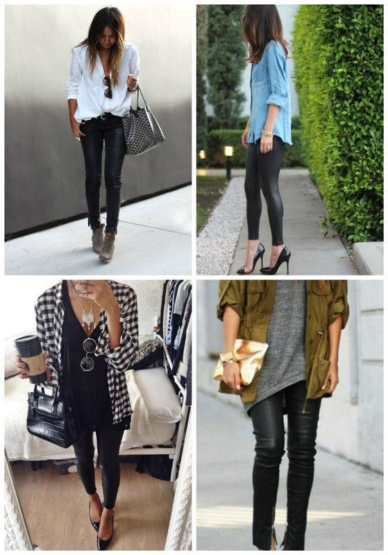 Casual Outfits With Black Leggings | www.pixshark.com - Images Galleries With A Bite!