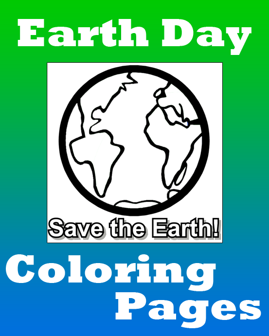 Earth Day Coloring Pages Free printable Earth and Free