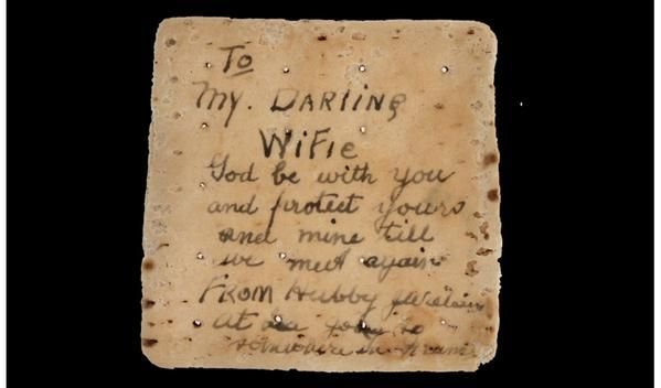 Proof that hard tack was virtually inedible An Australian soldier - new letter to minister format australia