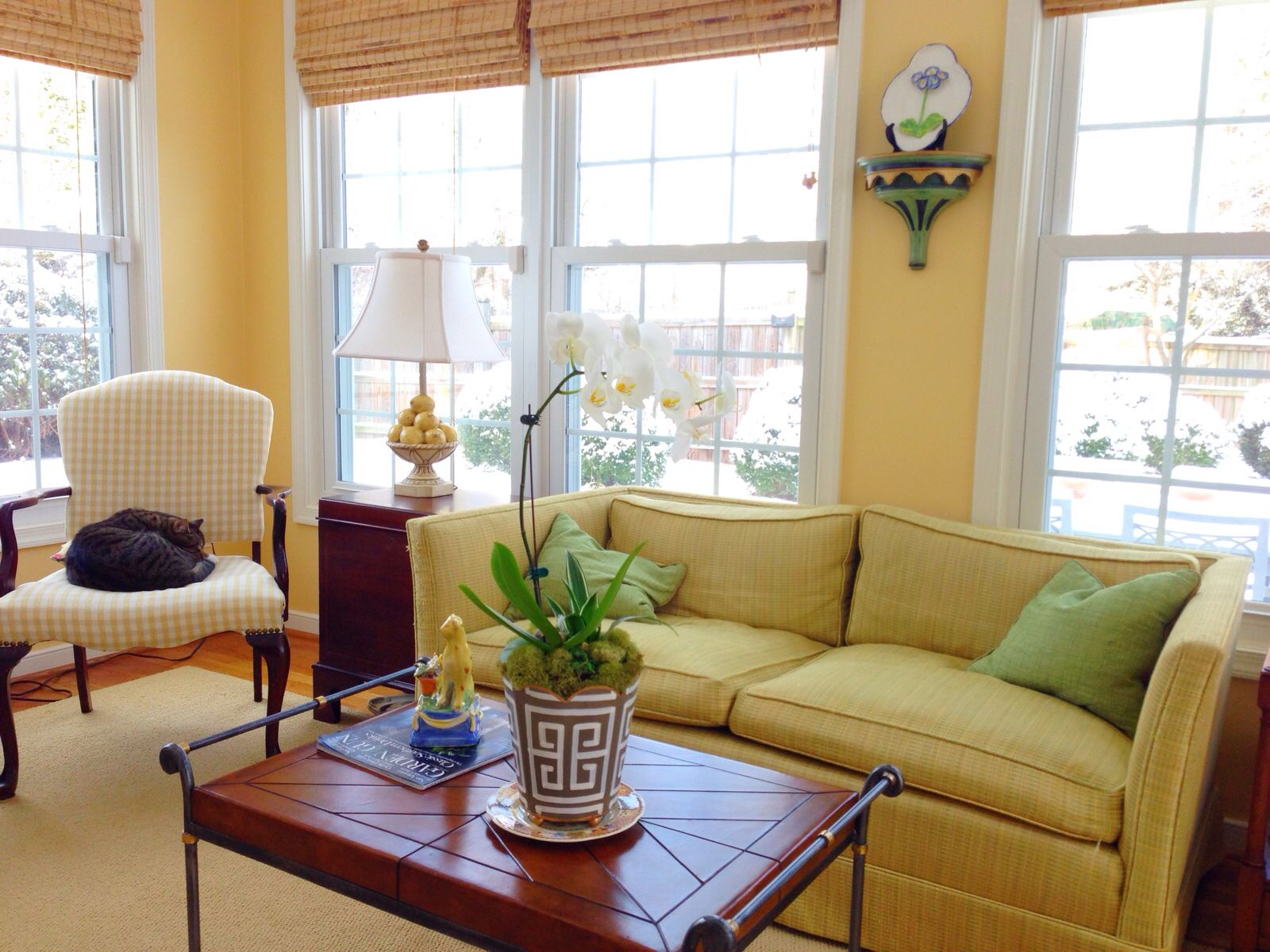 Sunroom Colors Breakfast Room Yellow Design Bethfowler Sunroom Decorating Small Living Room Turquoise Paint Colors For Living Room