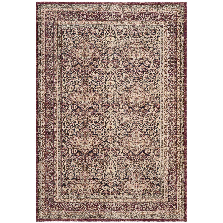 Teppich Orissa Mischgewebe Weinrot Beige 154 X 228 Cm Safavieh Online Kaufen Bei Woonio Teppich Teppichboden Baumwollteppiche