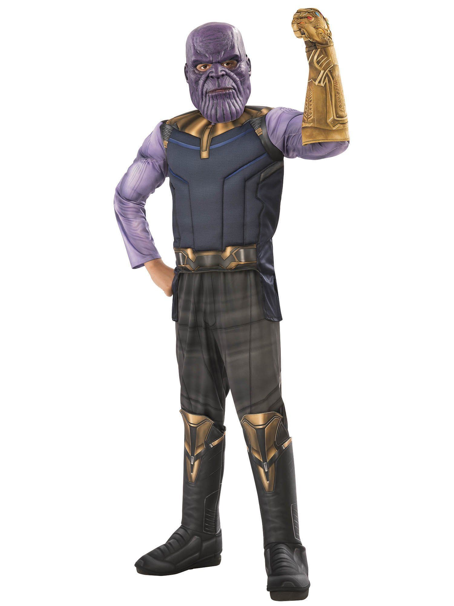 LICENSED DELUXE THANOS INFINITY WAR AVENGERS ADULT MENS FANCY DRESS HALLOWEEN CO