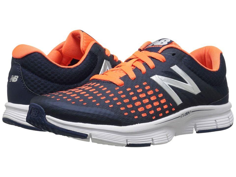New Balance M775V1 Men Orange/Blue Running Shoes