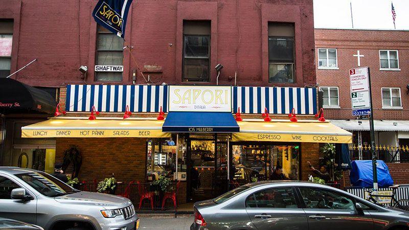 Italian restaurant in new york sapori di italia best