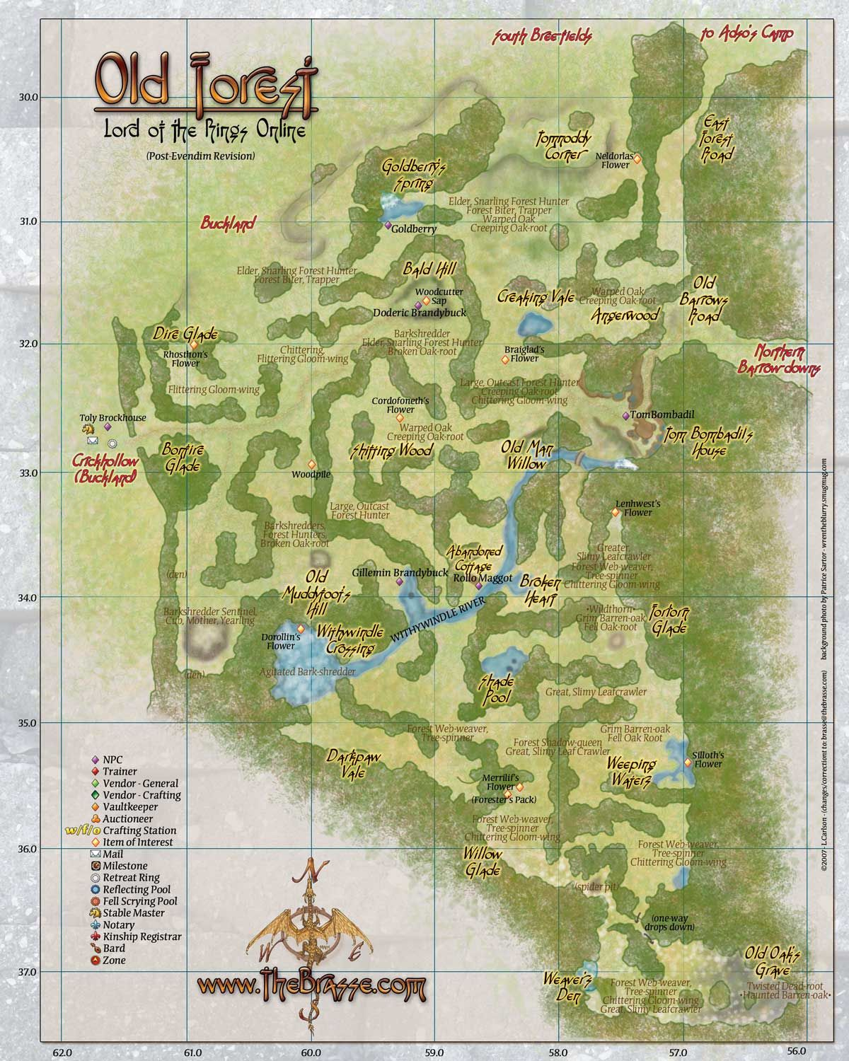 The Forest Karte Höhlen.Old Forest Map Lord Of The Rings Online Fantasy Maps In 2019