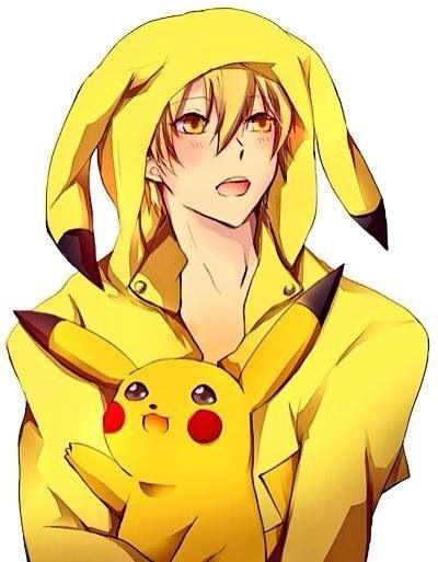 I Know That Is Pikachu From Pokemon But Who Is That Guy In The