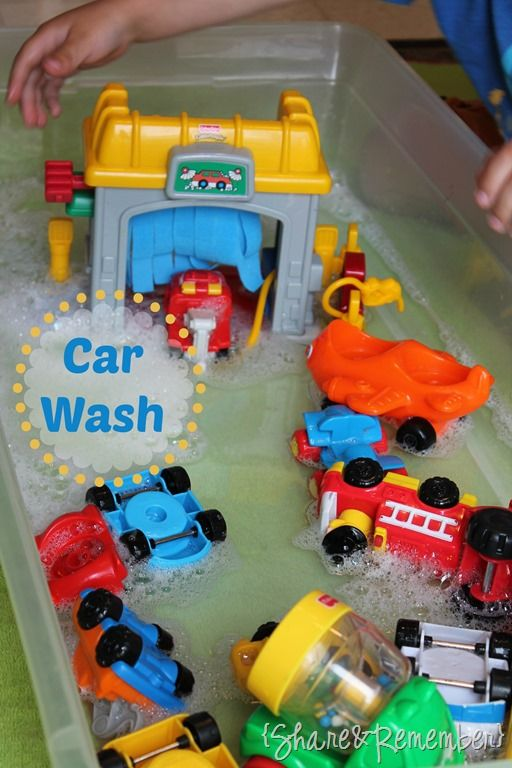 Little People Car Wash Water Play Classroom Inspiration Science