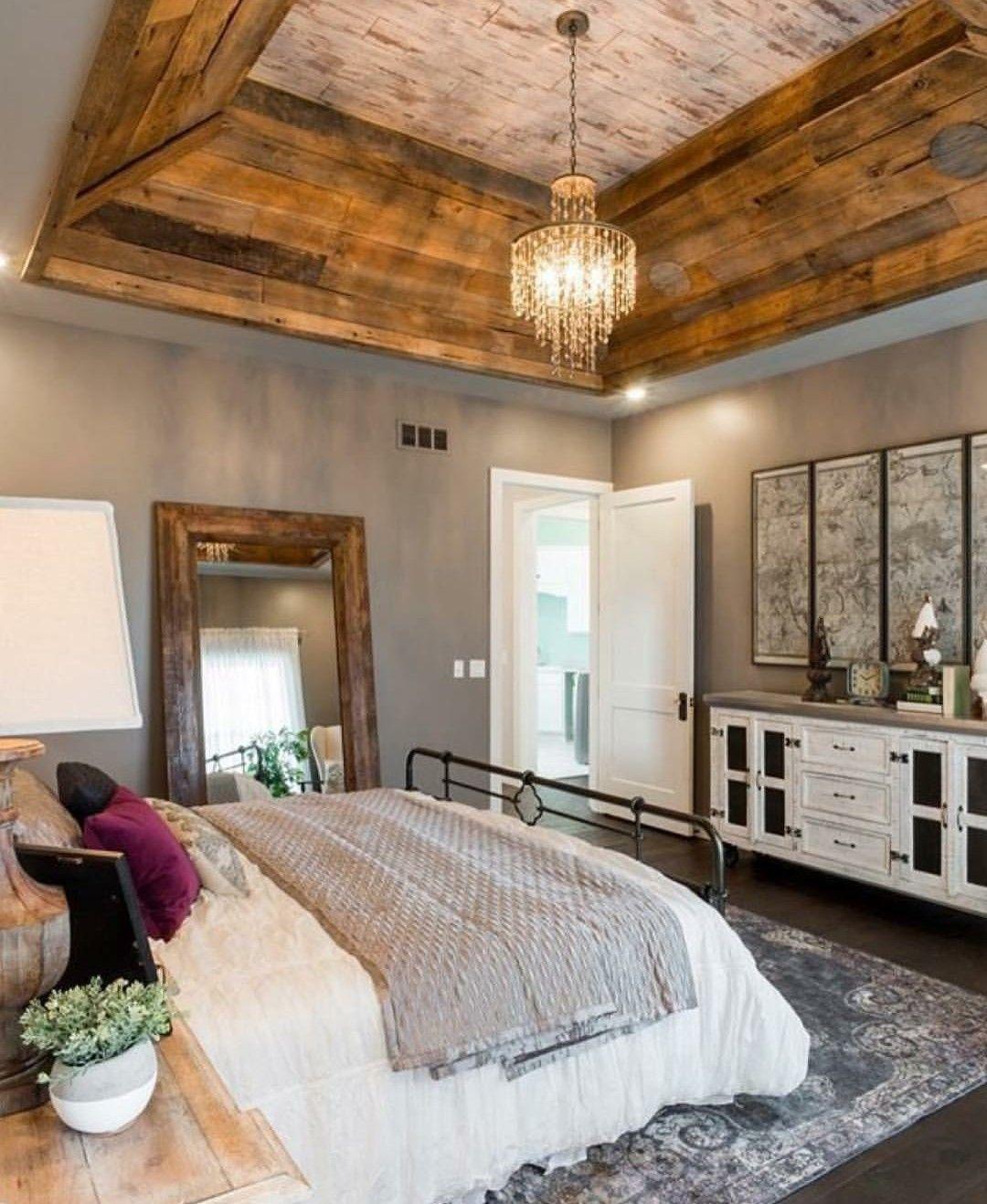 Master Bedroom Tray Ceiling Designs: Insta And Pinterest @amymckeown5