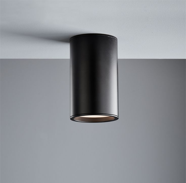 Ledlux Surface 150mm Dimmable Surface Mounted Downlight In Black Downlights Surface Mount Kitchen Lighting Cool Lighting