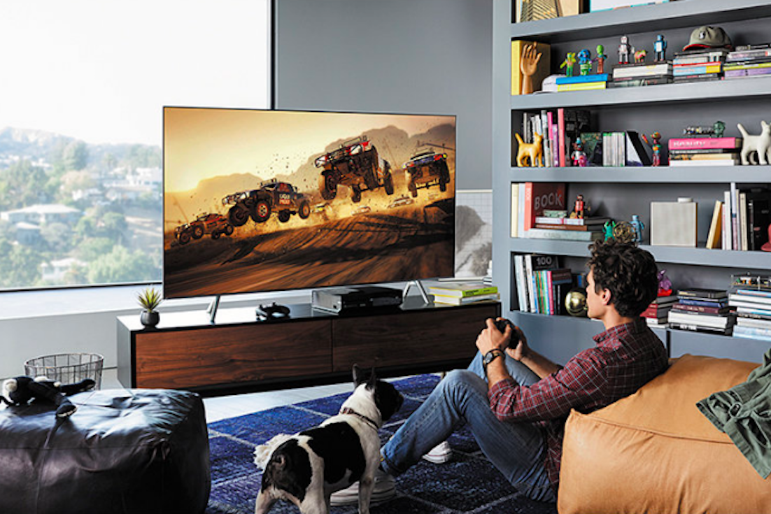 Samsung® Q6FN Series QLED Smart 4K UHD TV- Play your favorite games