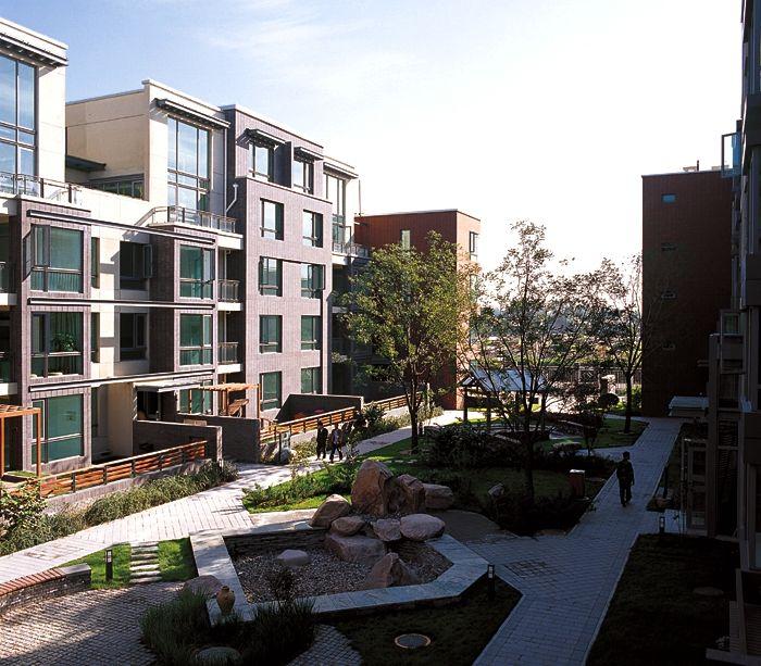 Chinese Housing   Condominium, House styles, Mansions