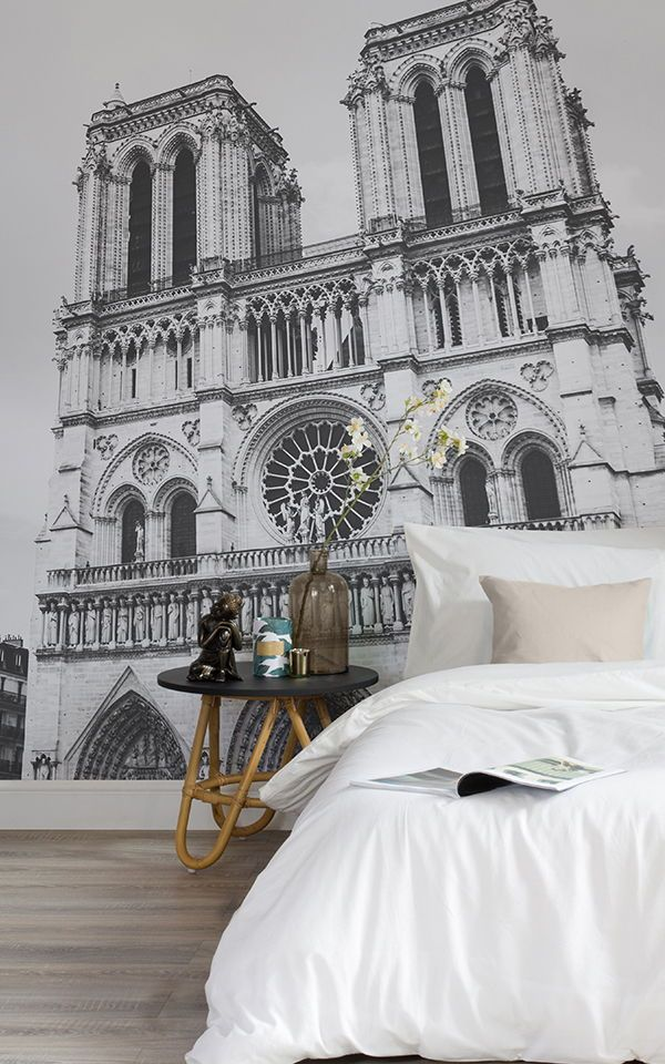 Papel pintado Notre Dame Pinterest Papel tapiz, Tonos claros y - tapices modernos