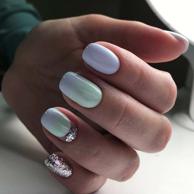 21 Elegant Nail Designs for Short Nails | nail it | Pinterest ...