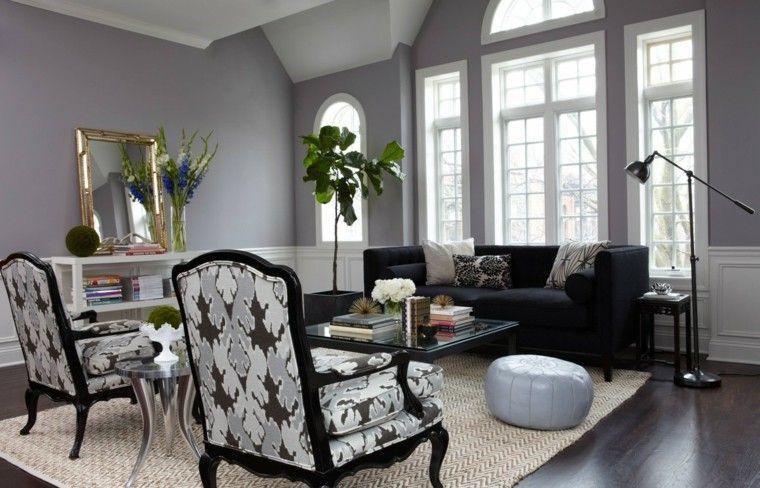 Idée déco salon gris pour transformer cette couleur neutre en
