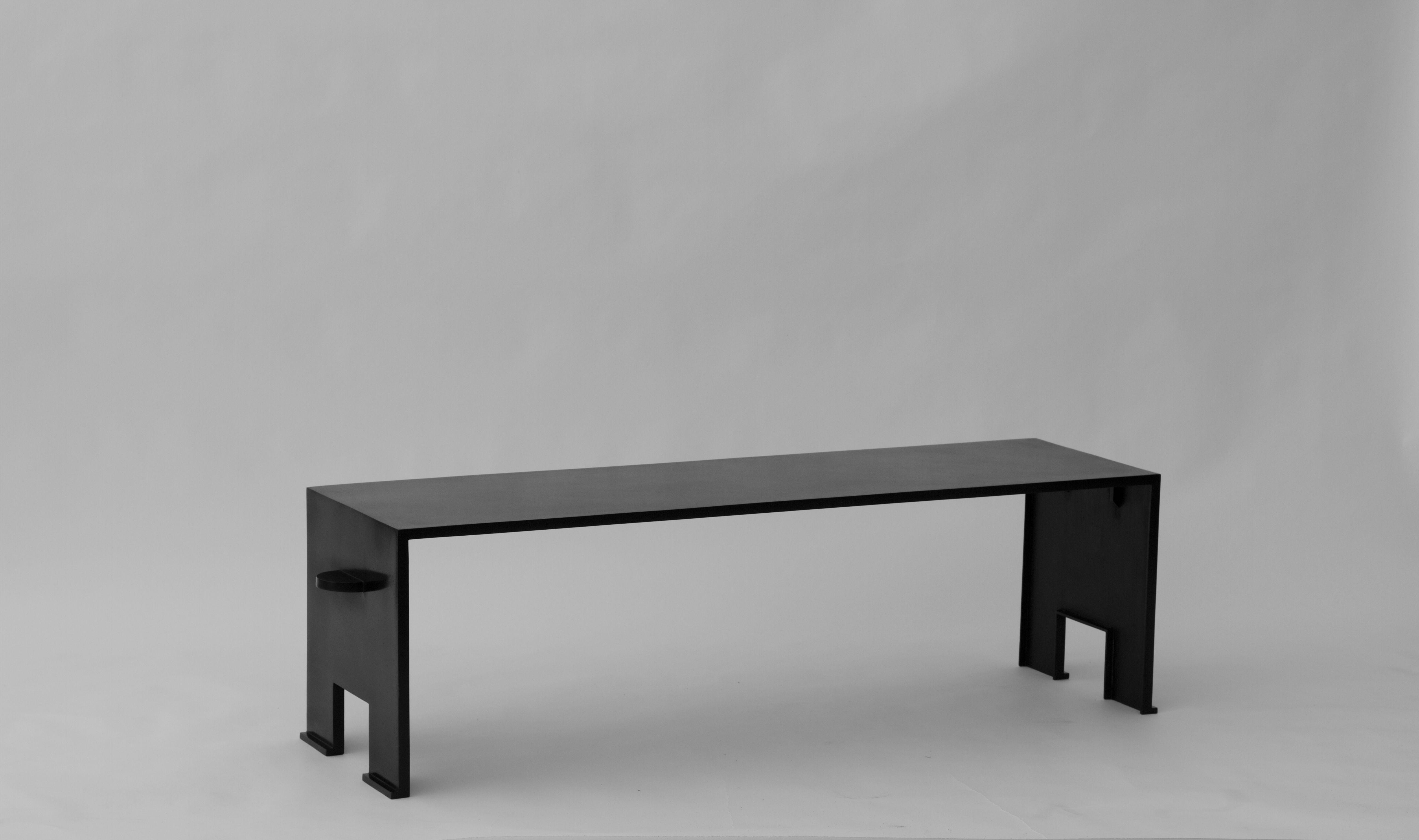 "Eric Schmitt For Christian Liaigre coffee table ""Umberto"" Smooth"