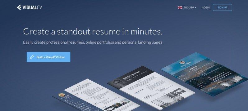 VisualCV | Personal Development | Pinterest | Online resume builder ...