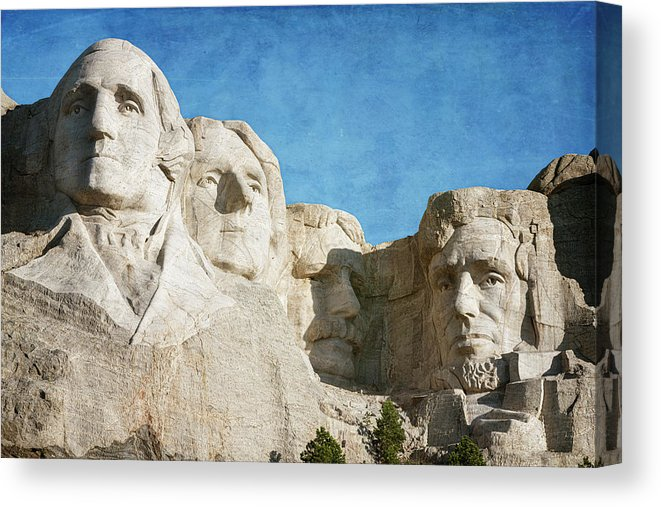Classic Mount Rushmore Canvas Print Canvas Art By Joan Carroll Mount Rushmore Monument Men National Monuments
