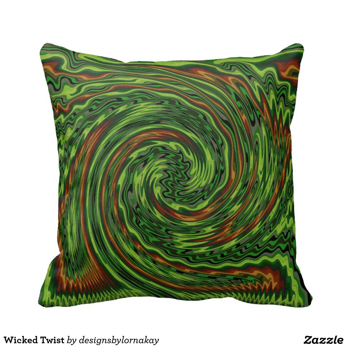 Wicked Twist Pillows http://www.zazzle.com/wicked_twist_pillows-189064041639508036?rf=238588924226571373