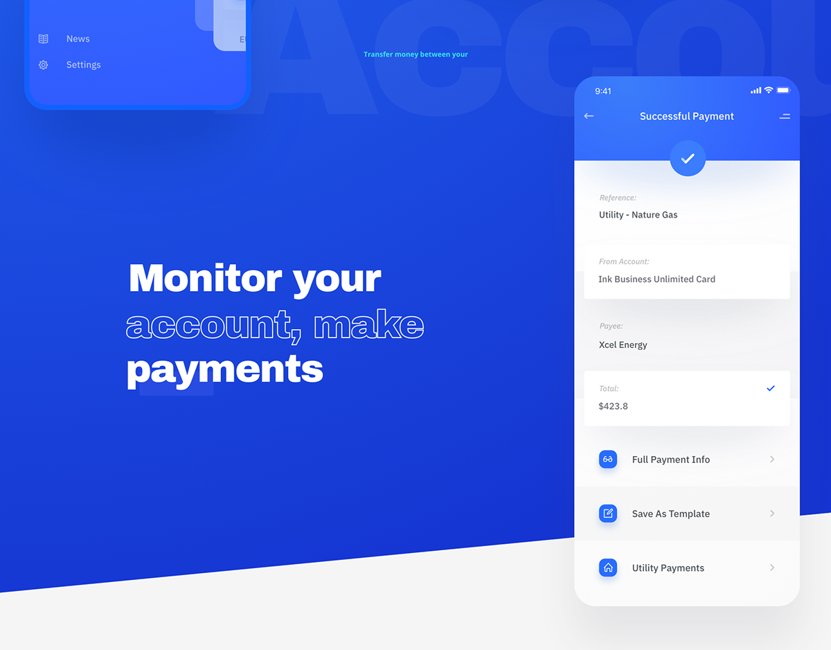 Chase Digital Banking App Finance Trade On Behance In 2021 Banking App Finance Banking