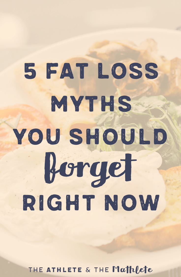 what are five myths associated with diet and exercise