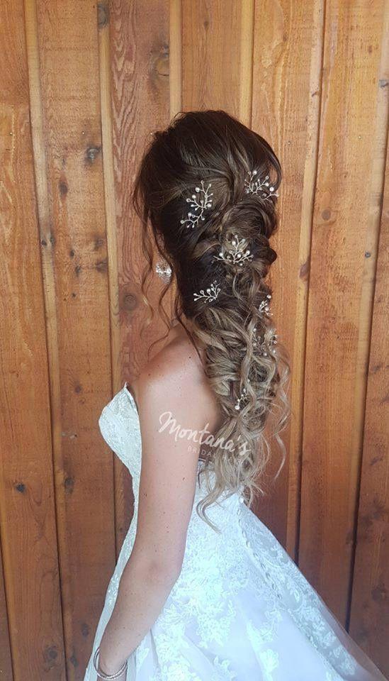 Set von 6 Braut Haarnadeln Braut Haarschmuck Hochzeit Haarteil Hochzeit Haarschmuck - Site Today #hairaccessories