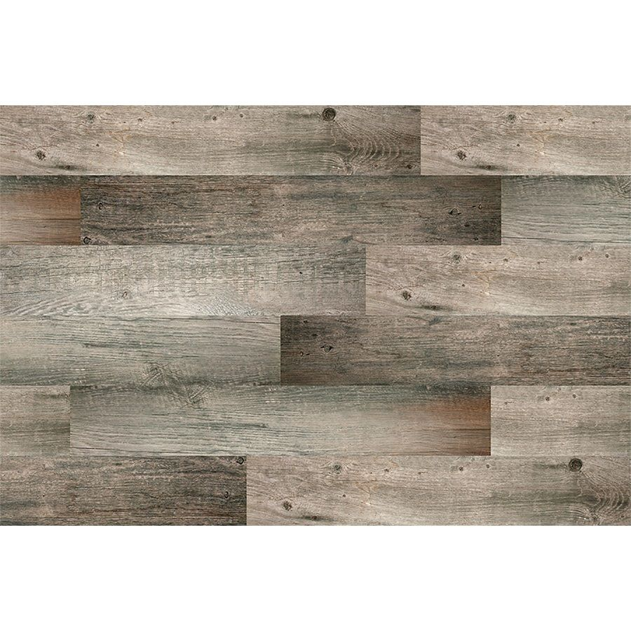 Style Selections Kaden Reclaimed 6 In X 36 In Glazed Porcelain