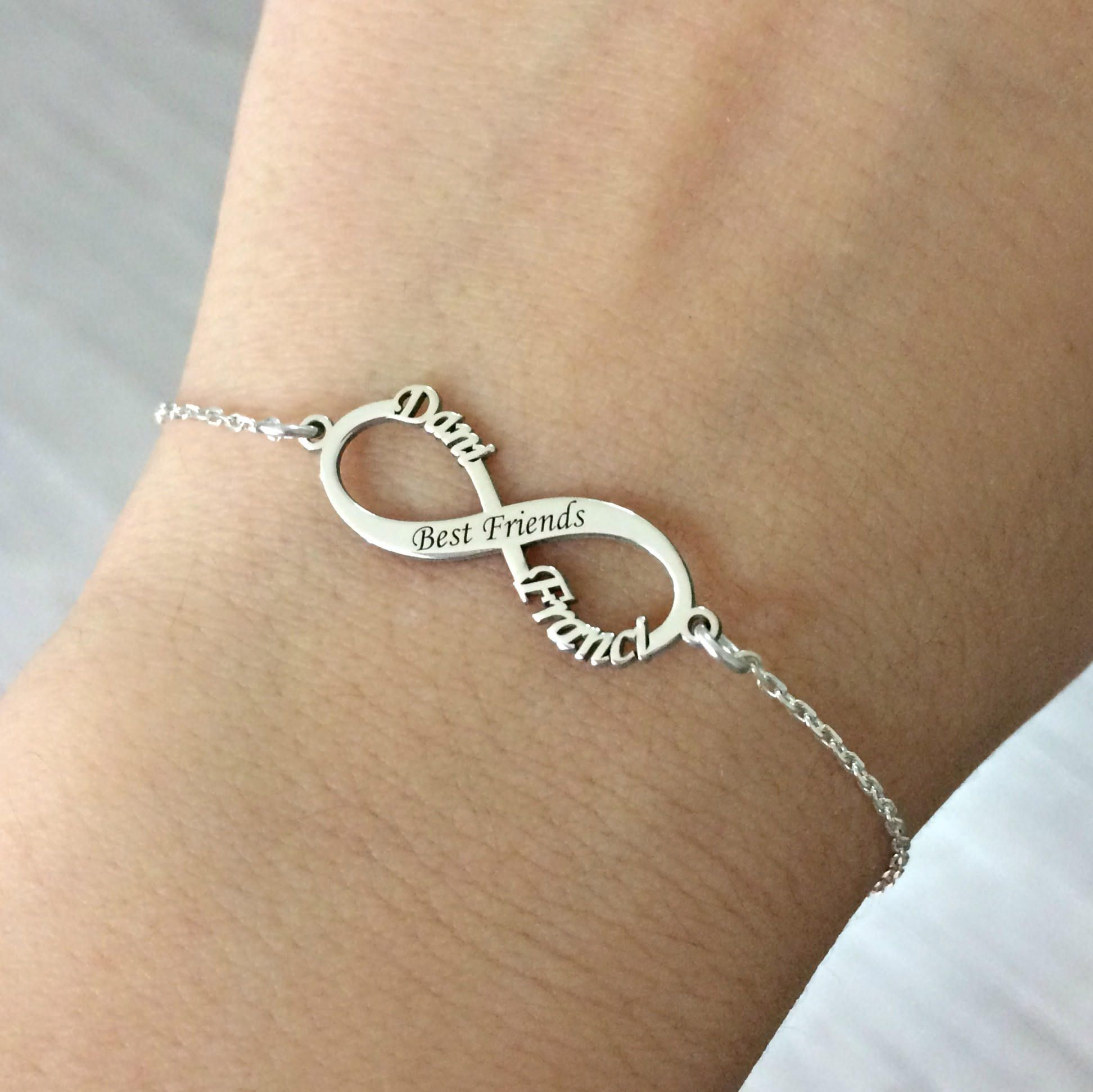 Best Friends Infinity Bracelet Bff