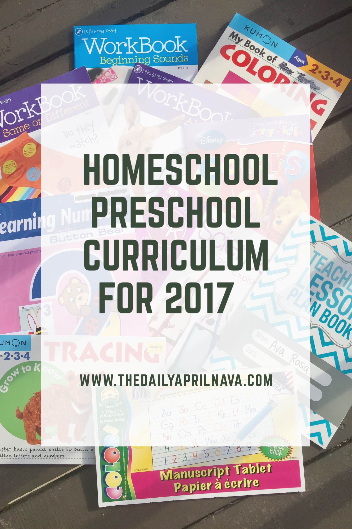 Homeschool Preschool Curriculum Choices For 2017 Low Cost Bud