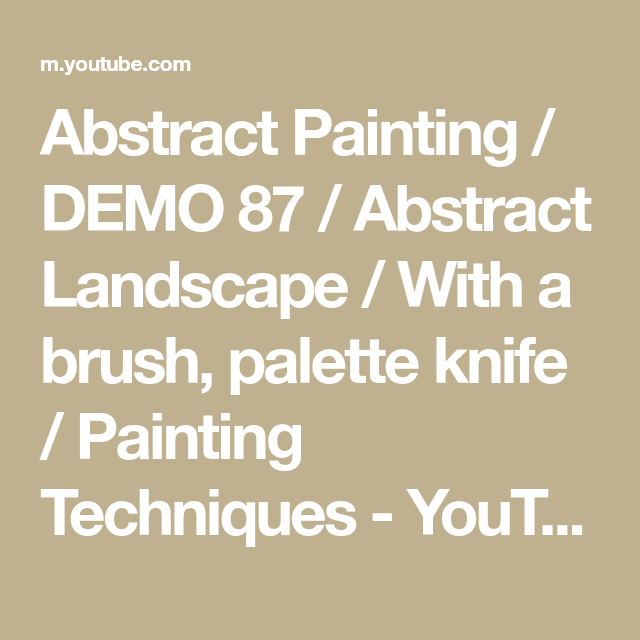 Contoh Gambar Denah Plafon  abstract painting demo 87 abstract landscape with a