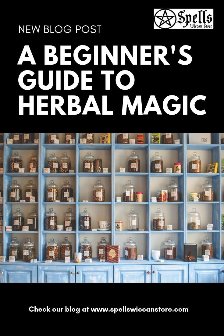 A Beginners Guide to Herbal Magic A Wiccan Overview – Herbal magic